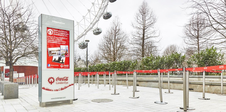 CocaCola London Eye, UK