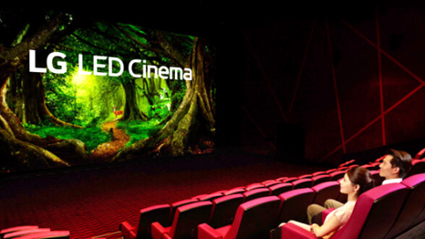 First Movie Theather With LG LED Cinema Display and Dolby Atmos Makes Movies Even More Magical