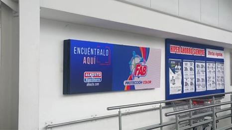 ALKOSTO LG LED Signage, Colombia