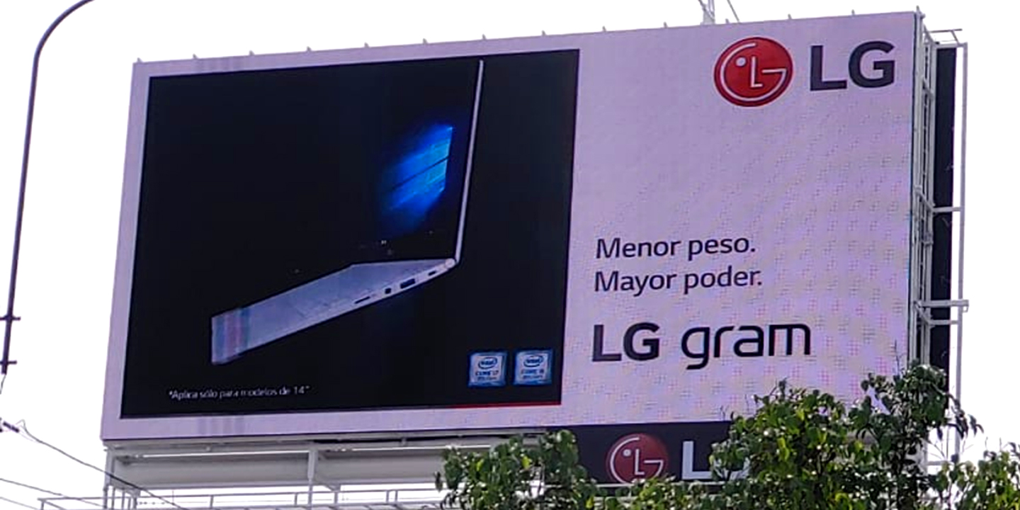 Punto Visual LG LED Signage, Peru