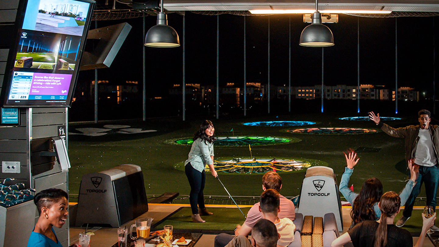 TOPGOLF, Digital Display Transformation