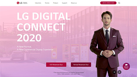 Explore The Newest Digital Signage Technology with LG Digital Connect 2020