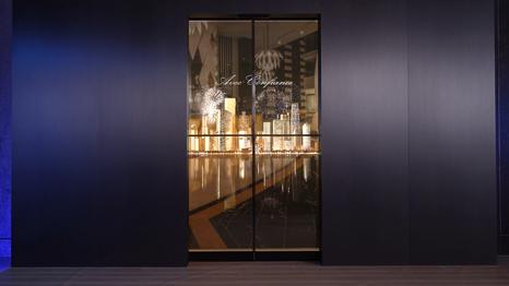 ASSA ABLOY Stockholm Event LG Transparent OLED Automatic Door, Sweden