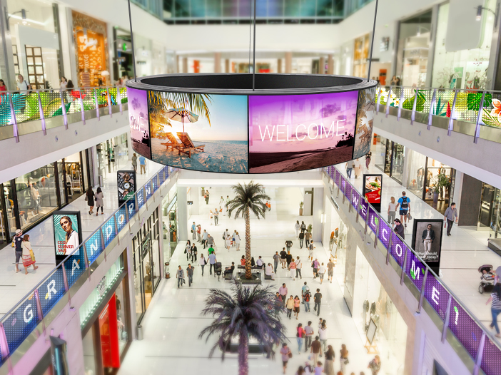 Retail Installation Space & Recommended Products_Large Shopping Malls