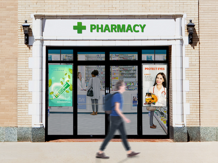 Retail Installation Space & Recommended Products_Pharmacies, Travel Agencies, Telecom Stores