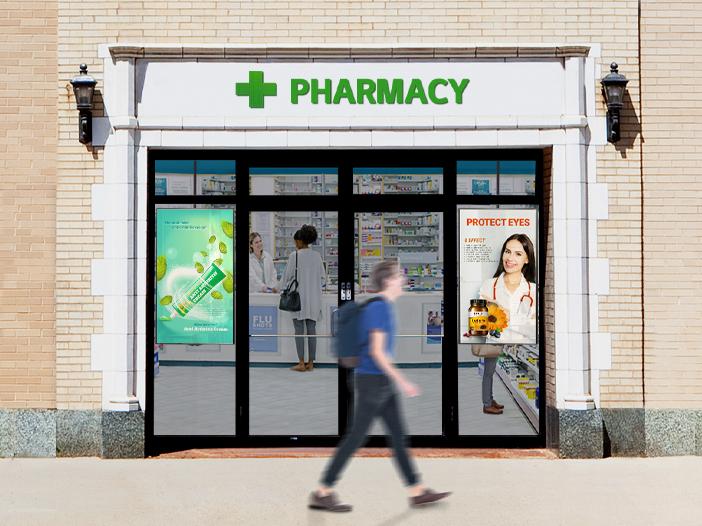 Pharmacies, Travel Agencies, Telecom Stores