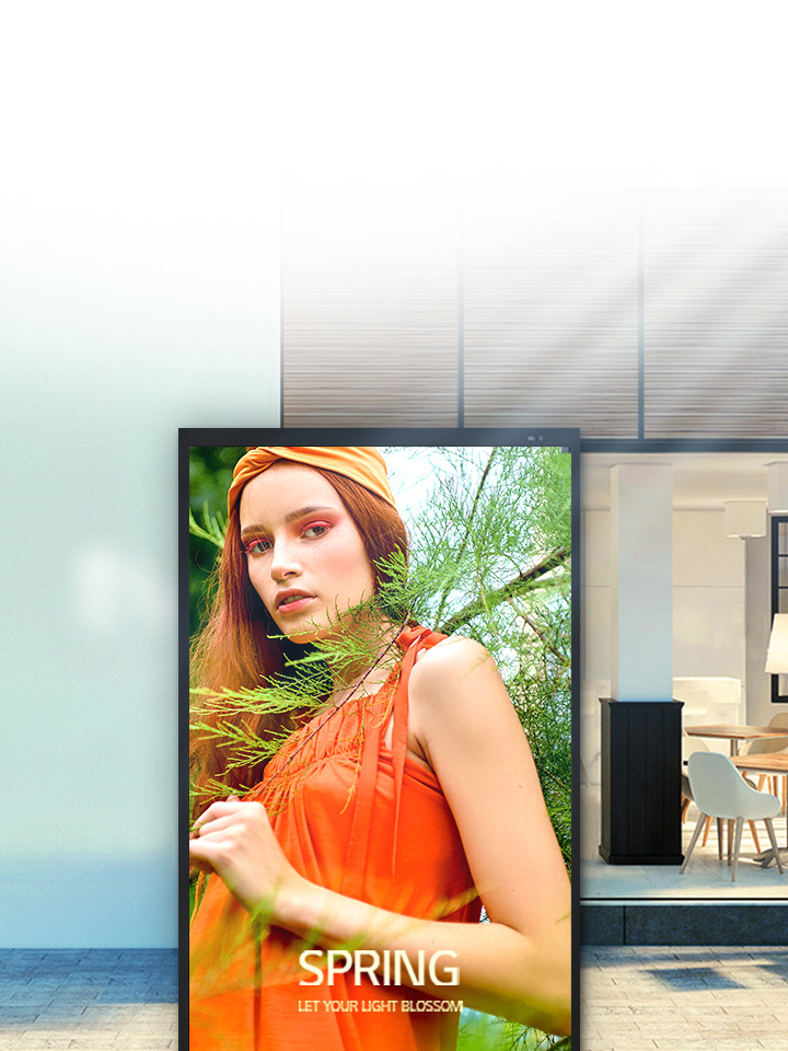 LG Digital Signage enables an increase in your sales and brings about unexpected benefits to your business.
