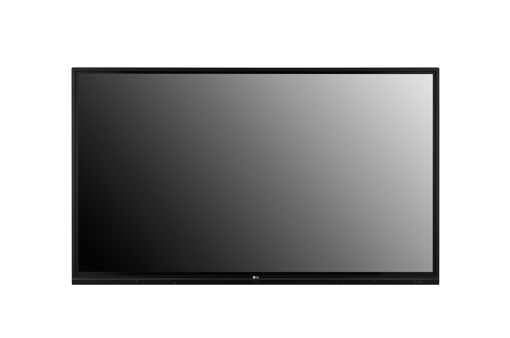 Digital Signage 86TR3BF-B Front view