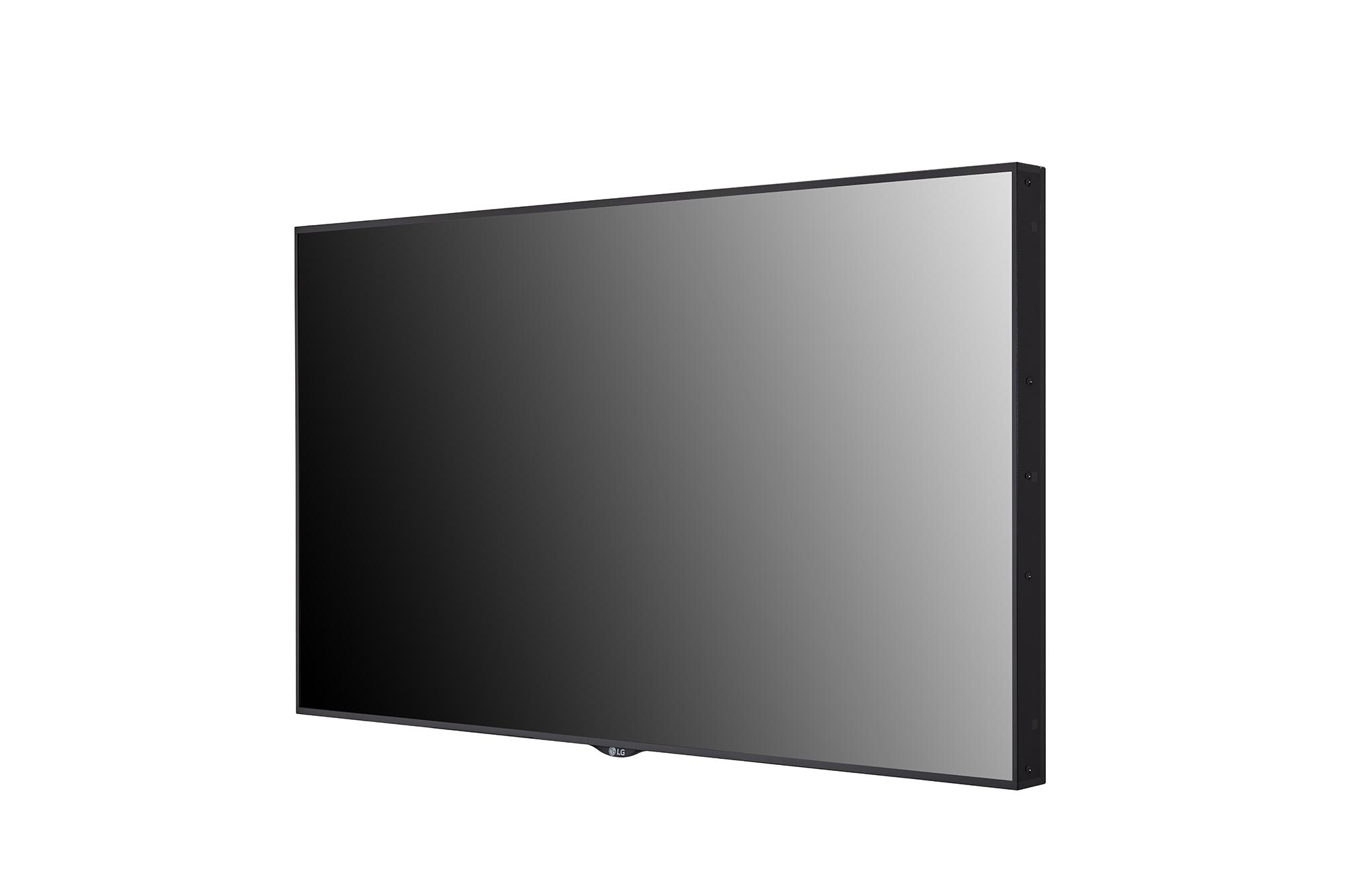 Digital Signage 55XS4J-B, -45 degree side view