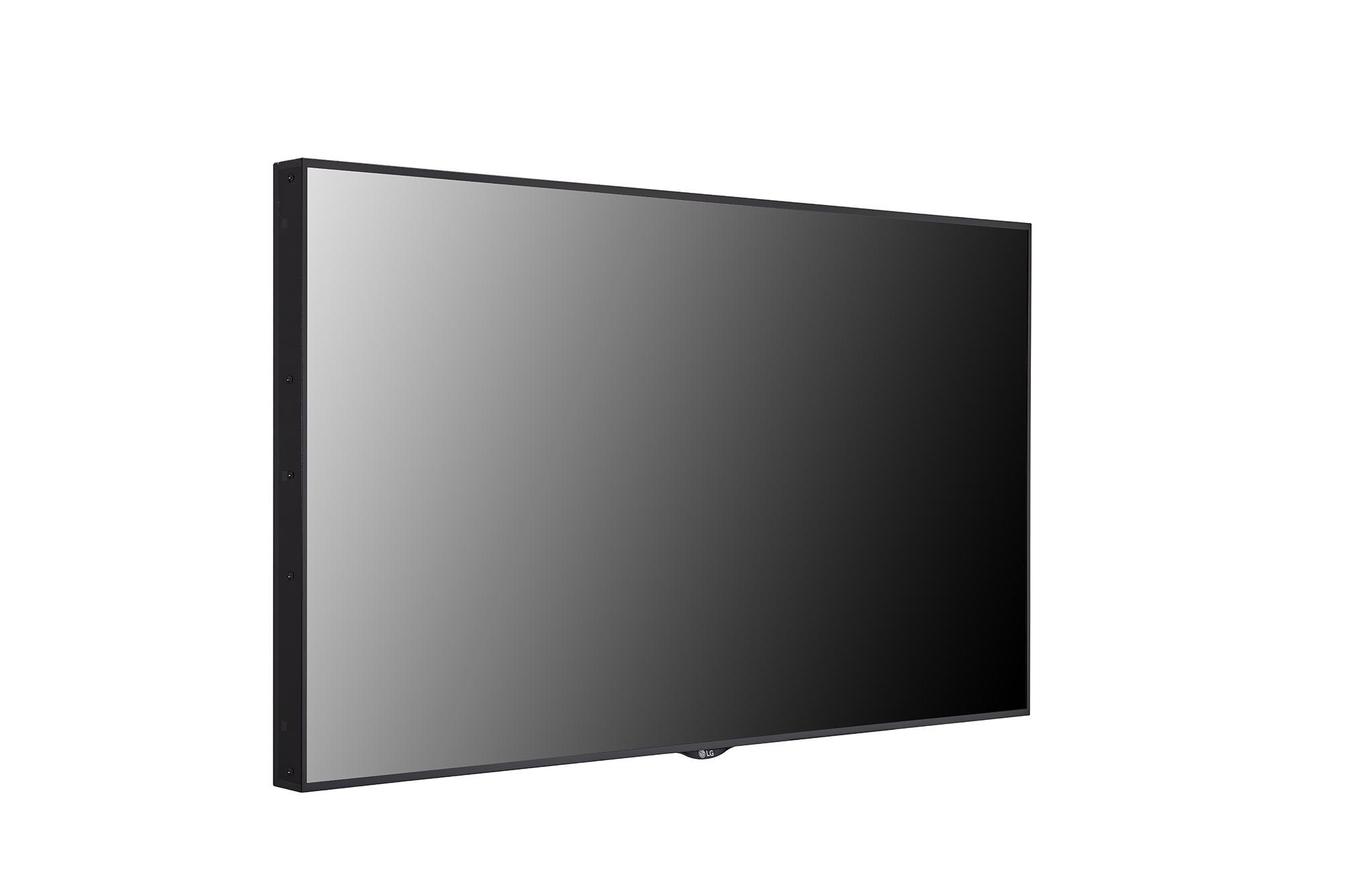 Digital Signage 55XS4J-B, +45 degree side view