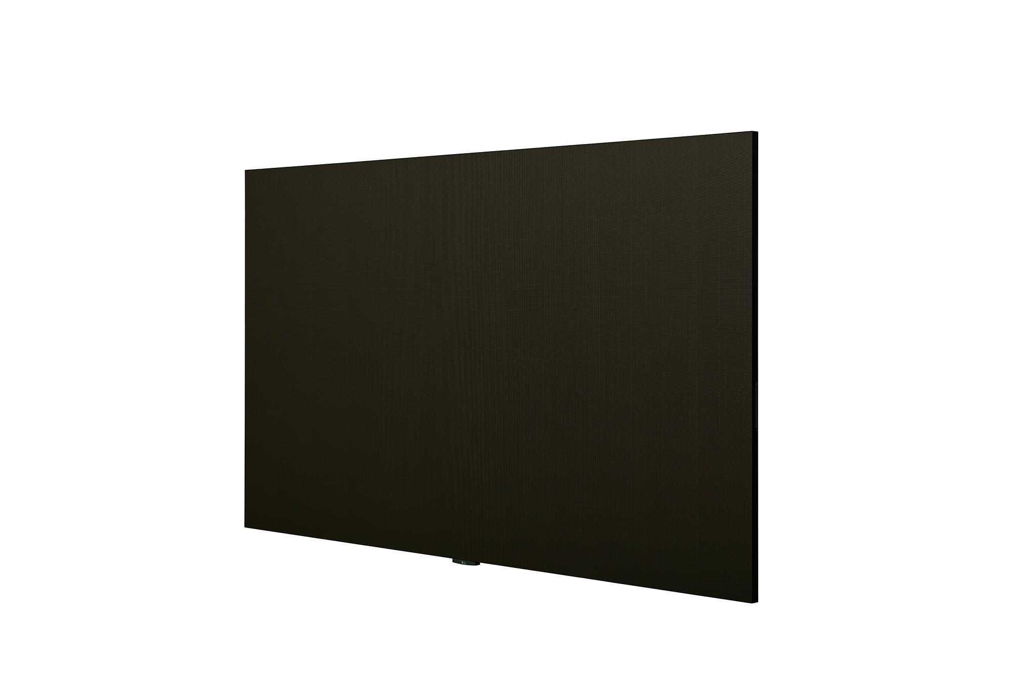 LED Signage LAEC015, -45 degree side view