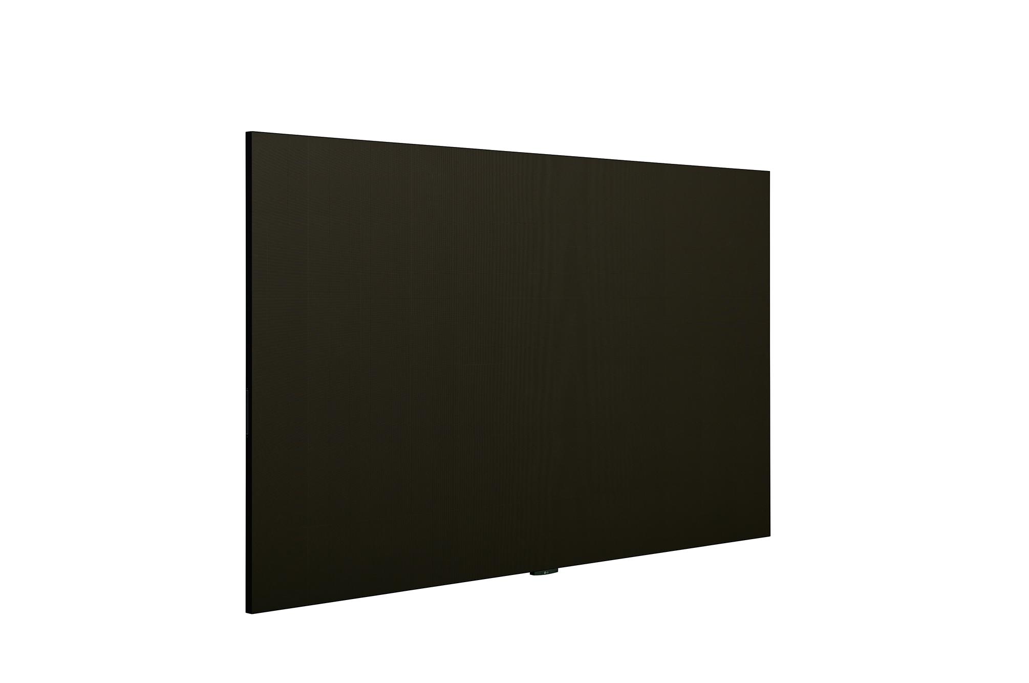 LED Signage LAEC015, +45 degree side view