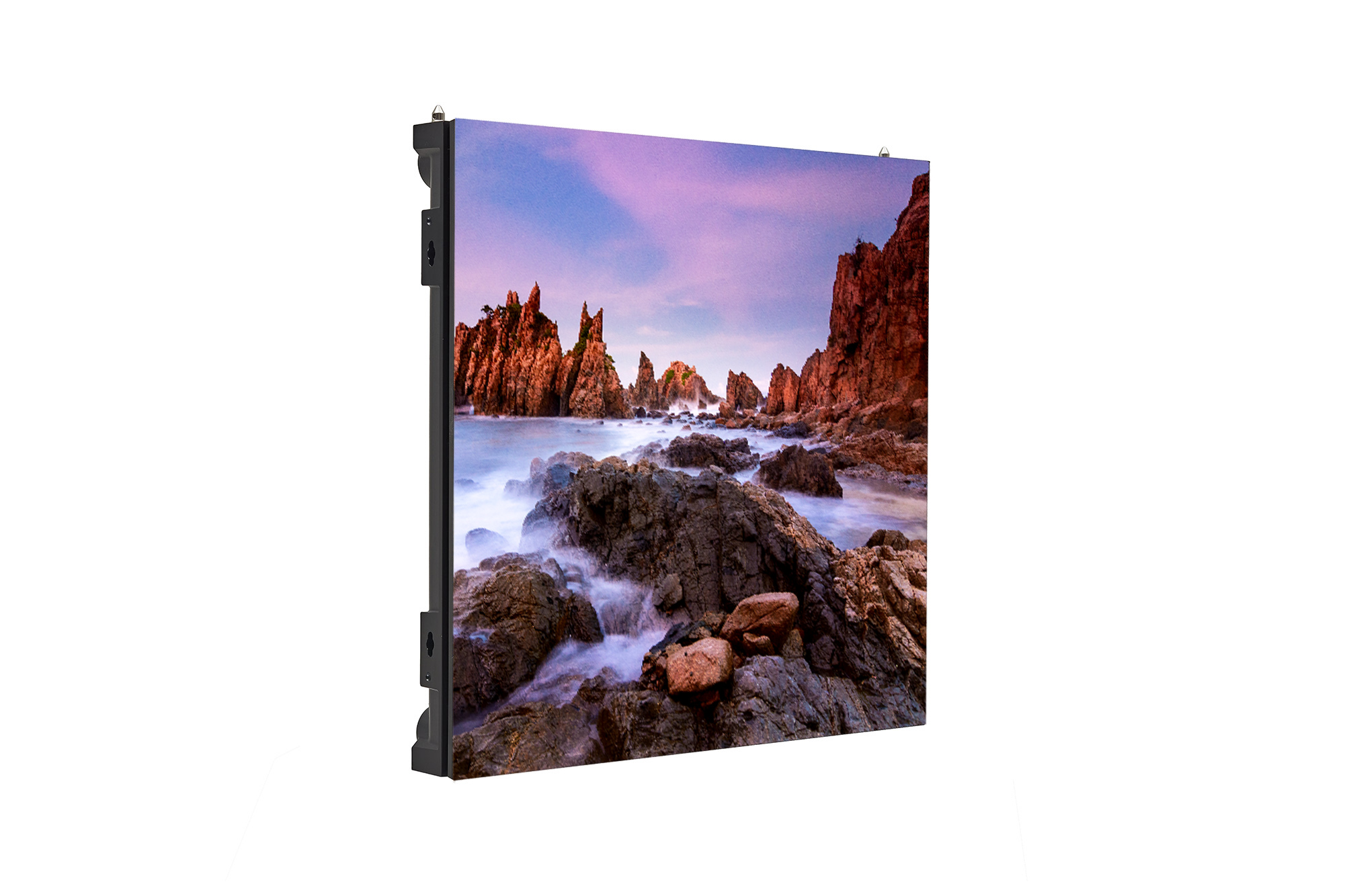 Digital Signage LSCA, right 45 degree side view with inscreen, 500x500