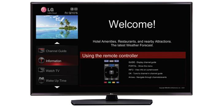 43LV560H (NA) | Pro:Centric V | Hotel TV | Commercial TV