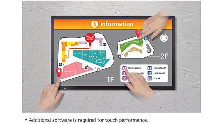 Multi Touch with No Dead Zones