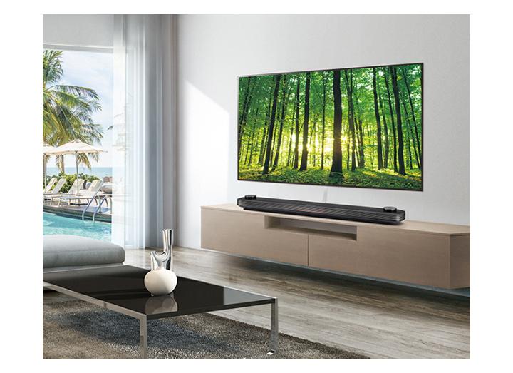 OLED Wallpaper Hotel TV