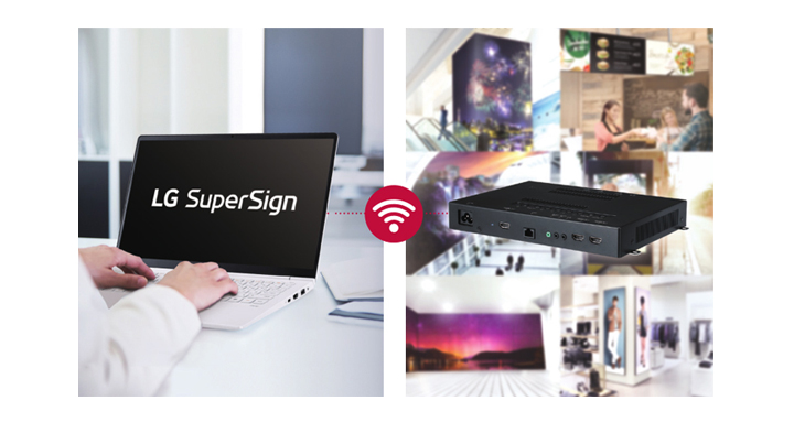 Compatibility with LG SuperSign Solutions