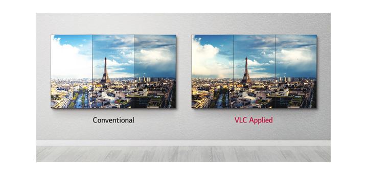 Uniform Brightness with VLC