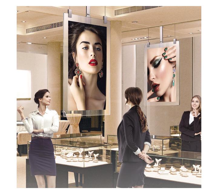 Artistic Space beyond Display LG OLED Signage