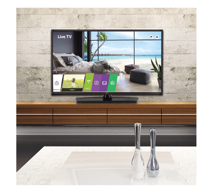 Essential Commercial TV with Commercial Grade Stan