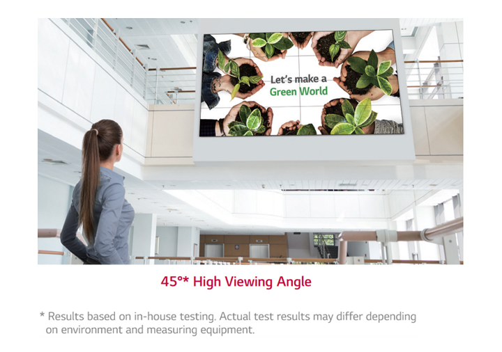 Higher Viewing Angle