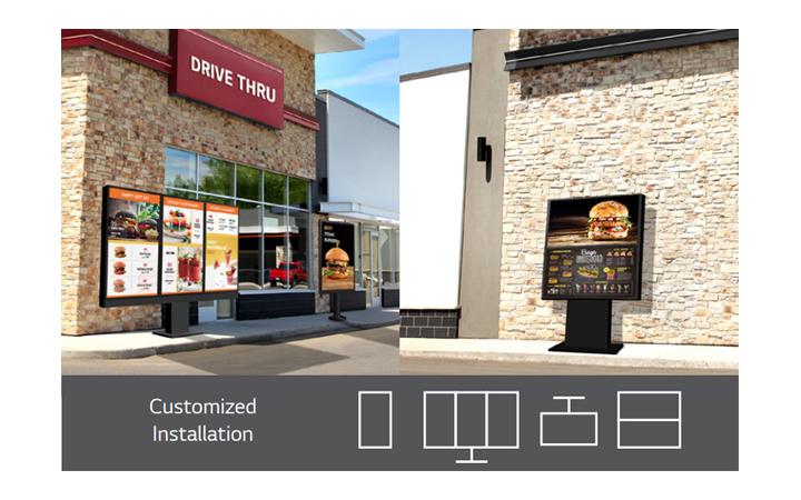 Easy integration for partner's customized design