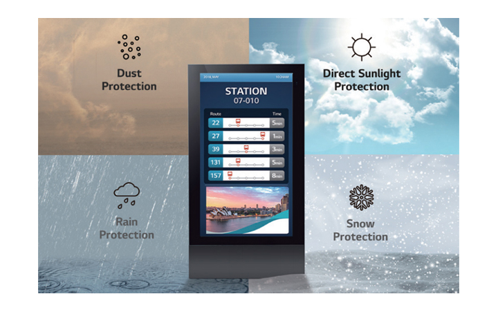 Secured Protection with IP56 Design