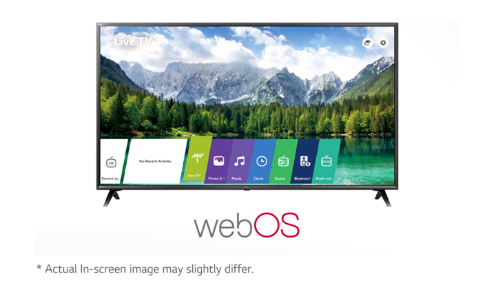10-Smart TV by LG WebOS 4 5