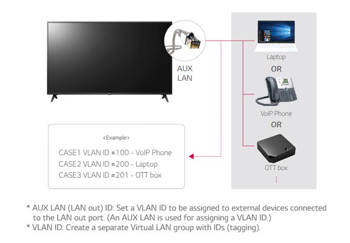 18-LAN out with VLAN (Virtual LAN) ID