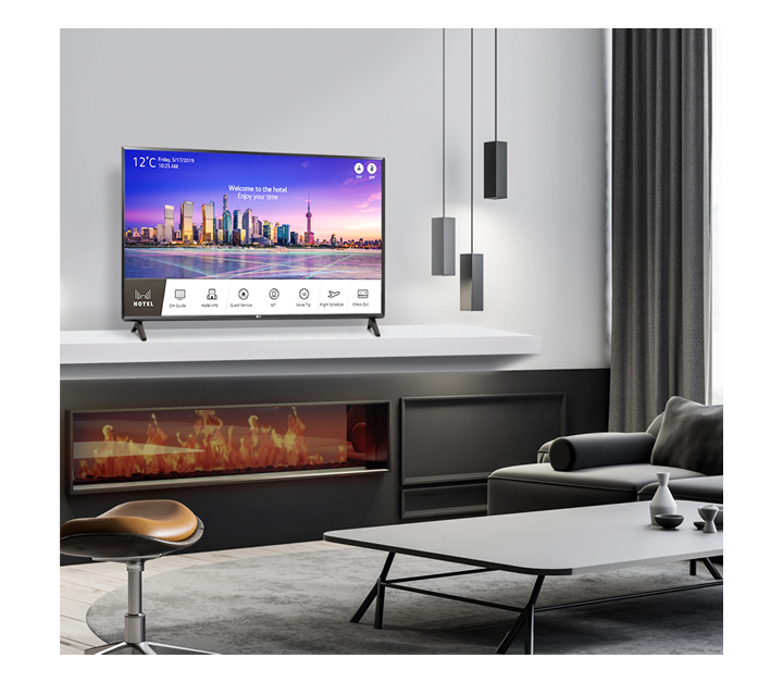 01-A standard Smart Hotel TV with Pro Centric Smart