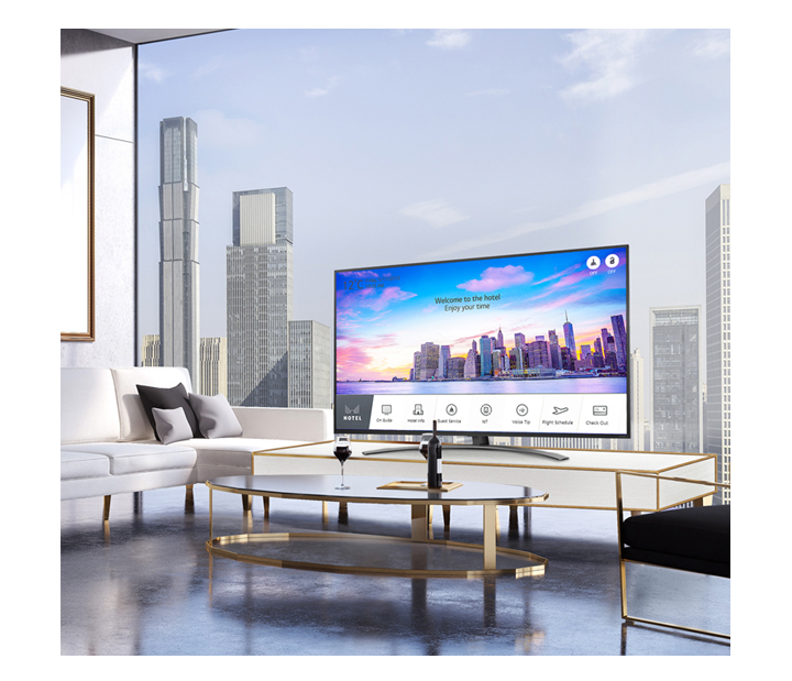 A Premium Smart Hotel TV With Pro : Centric Smart