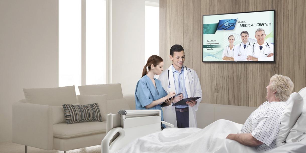 UL-Listed Hospital TVs