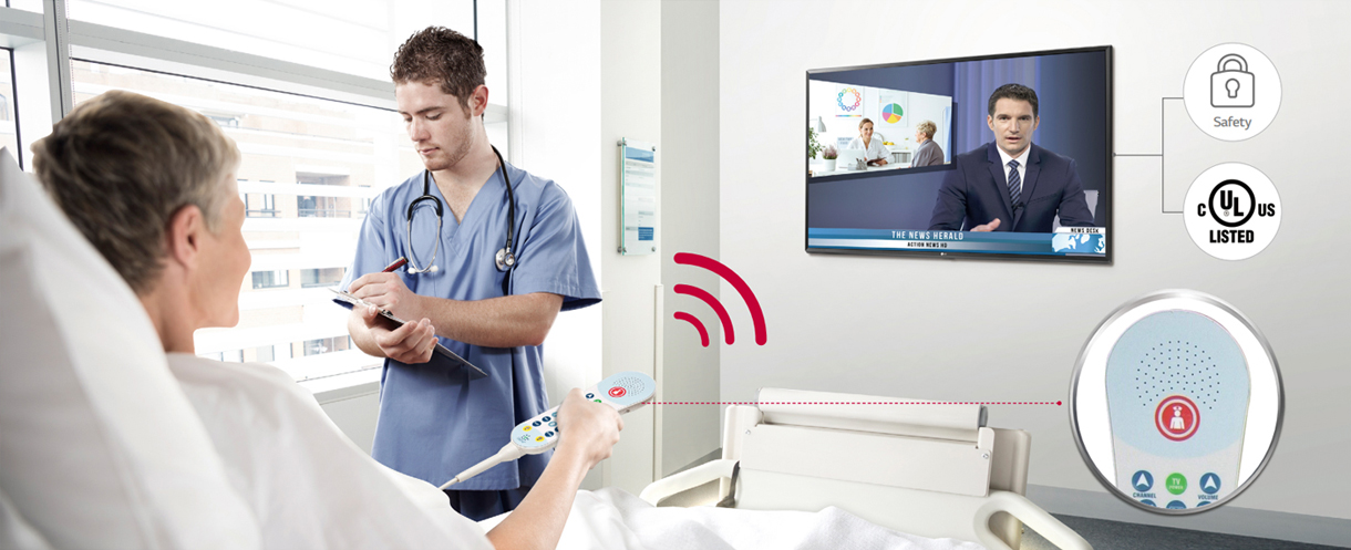FEATURES FOR HOSPITAL ENVIRONMENT