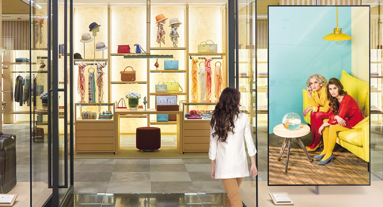 LG UHD Signage Offers Lifelike Vision to Customers