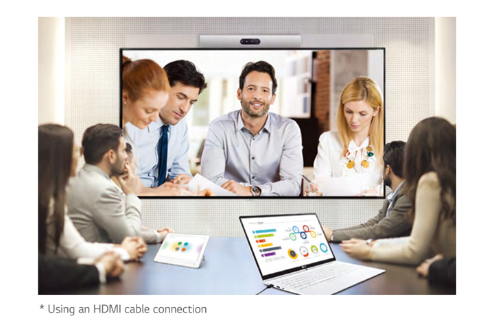 Compatible with Video Conference System