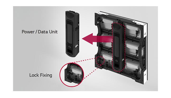 Bảo trì và lắp đặt đơn giản với màn hình led ngoài trời GSCC080