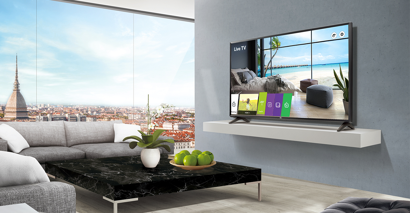 Essential Commercial TV with Multiple Use