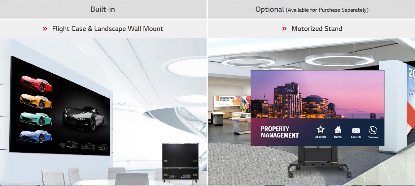Bộ phụ kiện chuyên dụng của Màn Hình LED