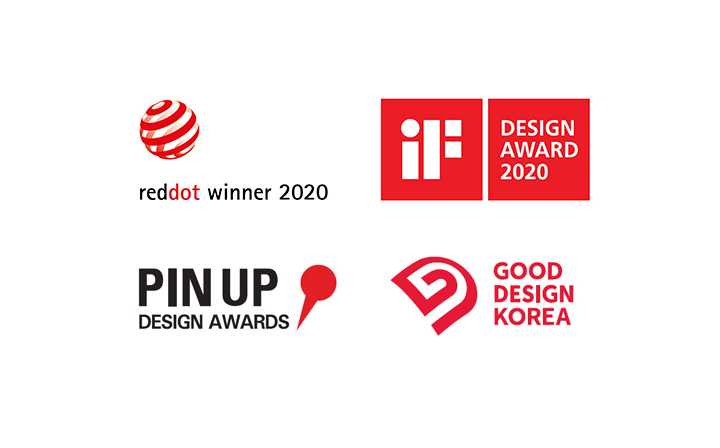 Winner of Design Awards