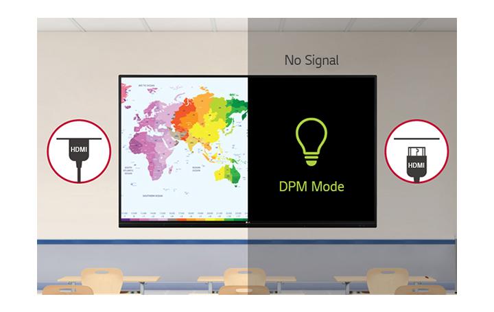 Muestra la función de administración de energía para administrar la energía de manera más eficiente.