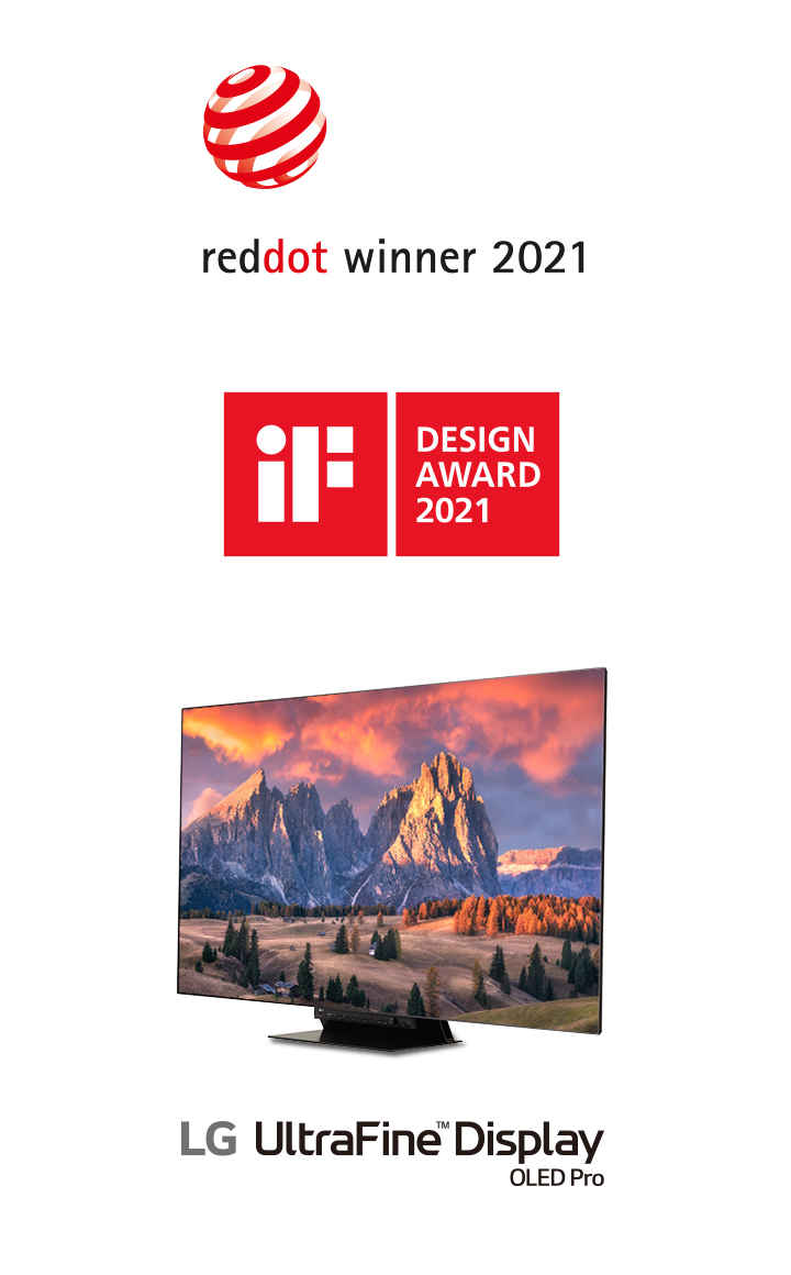 reddot winner 2021 LG UltraFine Display OLED Pro