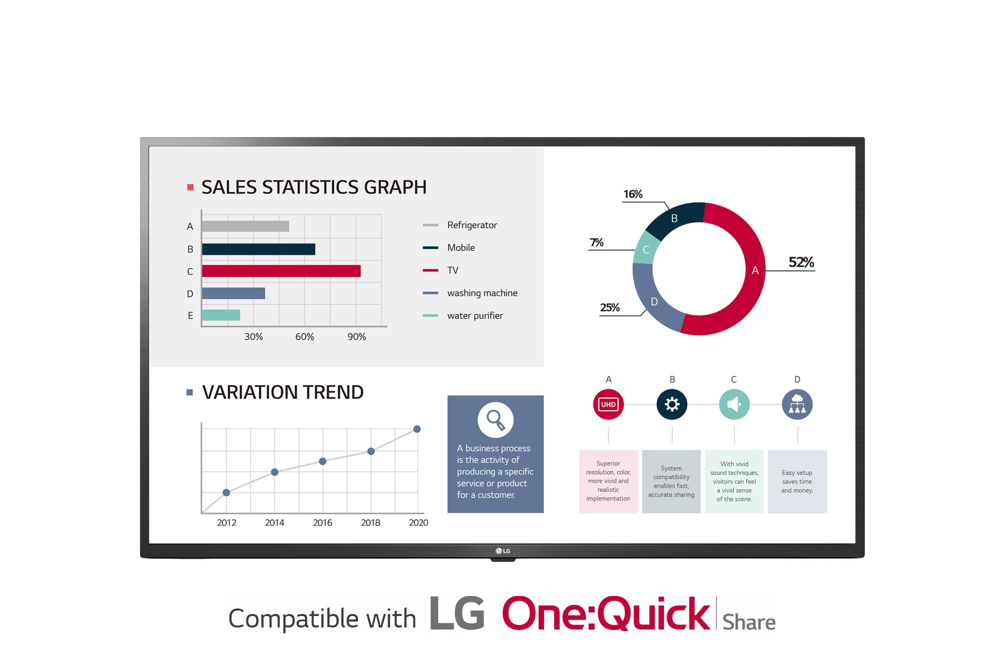 LG Standard Premium 50UL3G-B