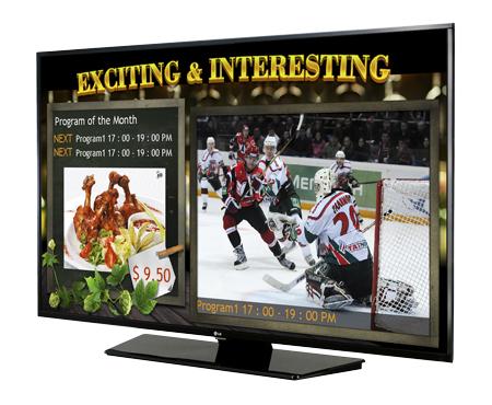 LG Commercial TV 49LX540S (EU)