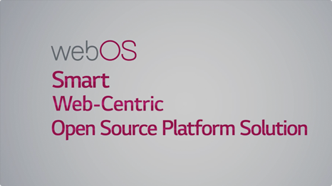 Benefits of webOS