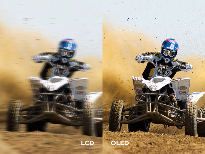 LCD vs OLDE / OLDE_Perfect Clear Motion