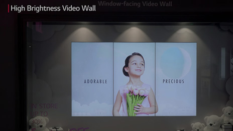 LG Booth #3 Video Wall