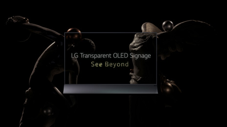 LG Transparent OLED Signage Teaser Video