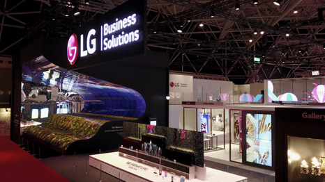 LG Booth Overview